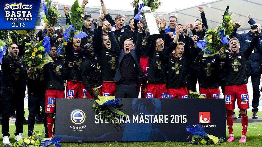 SM-guld till Norrköping 2015.