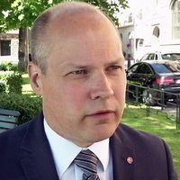 Migrationsminister Morgan Johansson.