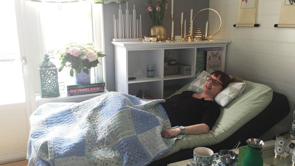 Petra Stafberg är sjuk i ME.