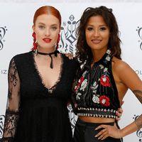 Caroline Hjelt och Aino Jawo från Icona Pop