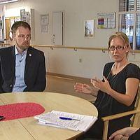 Debatt om sjukvården i Östergötland