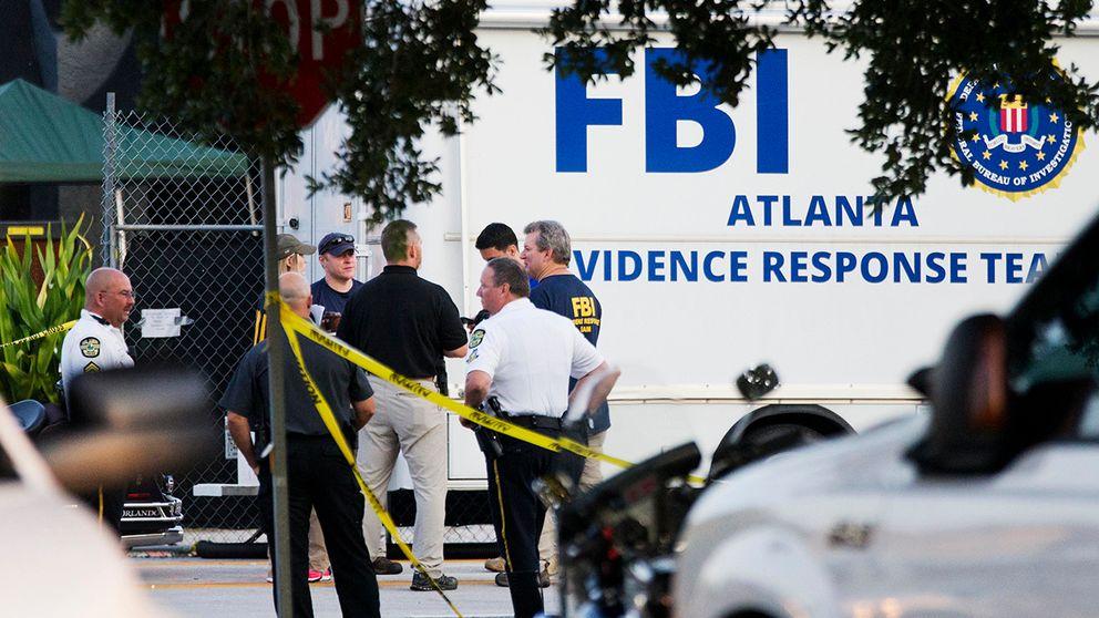 FBI utanför nattklubben Pulse.