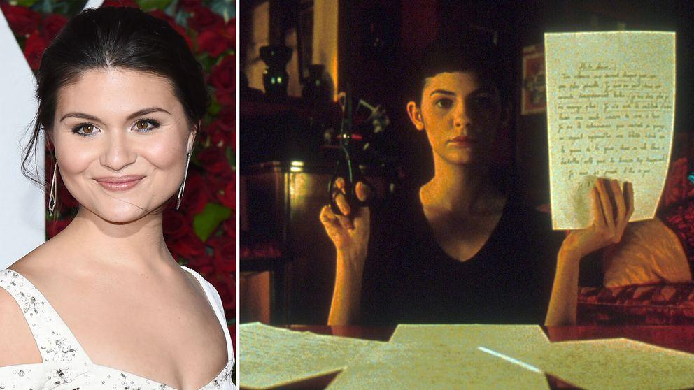 """Phillipa Soo (till vänster) är klar för titelrollen i musikalversionen av """"Amelie från Montmartre"""". Audrey Tautou (till höger) i rollen som Amelie i filmen från 2001."""