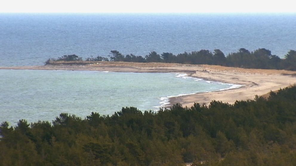 Strand på Gotska Sandön