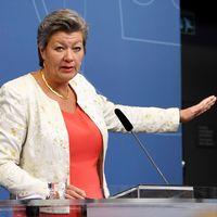 Arbetsmarknads- och etableringsminister Ylva Johansson (S)
