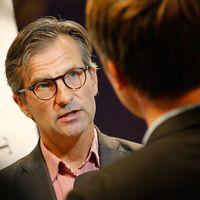 Erik Thedéen, generaldirektör för Finansinspektionen sammankallade en pressträff med anledning av uppgifterna om Nordea.