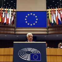 Mahmoud Abbas i EU-parlamentet