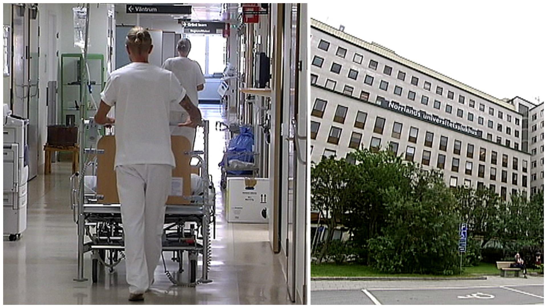 Fakta overbelastade sjukhus