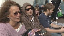 Maria Mattsson ställde sig i kö till måndagens konsert direkt efter att Bruce Springsteen spelat färdigt i lördags.