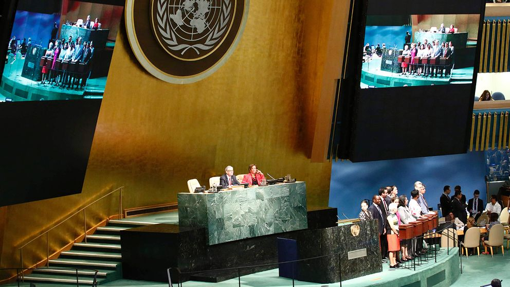 Omröstning i FN