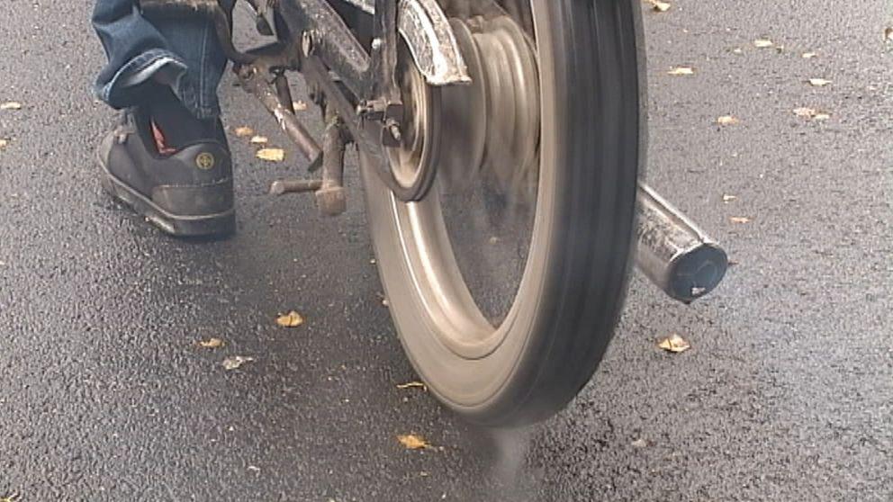 Generellt sett är mopedstölder ett brott där polisen sällan kan gripa någon.