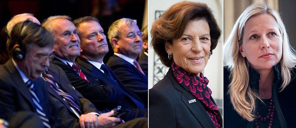 Antonia Ax:son Johnson och Cristina Stenbeck ratar ett eventuellt lagförslag till könskvotering av bolagsstyrelser.
