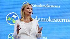 Partiledartal i Almedalen - Ebba Busch Thor (KD) - Teckenspråkstolkat