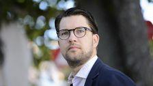 Partiledartal i Almedalen - Jimmie Åkesson (SD) - Teckenspråkstolkat