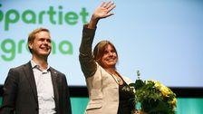 Partiledartal i Almedalen - Isabella Lövin (MP) - Teckenspråkstolkat