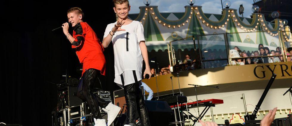 Marcus & Martinus på Gröna Lund