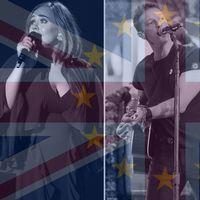 Adele, Chris Martin och Ellie Goulding.