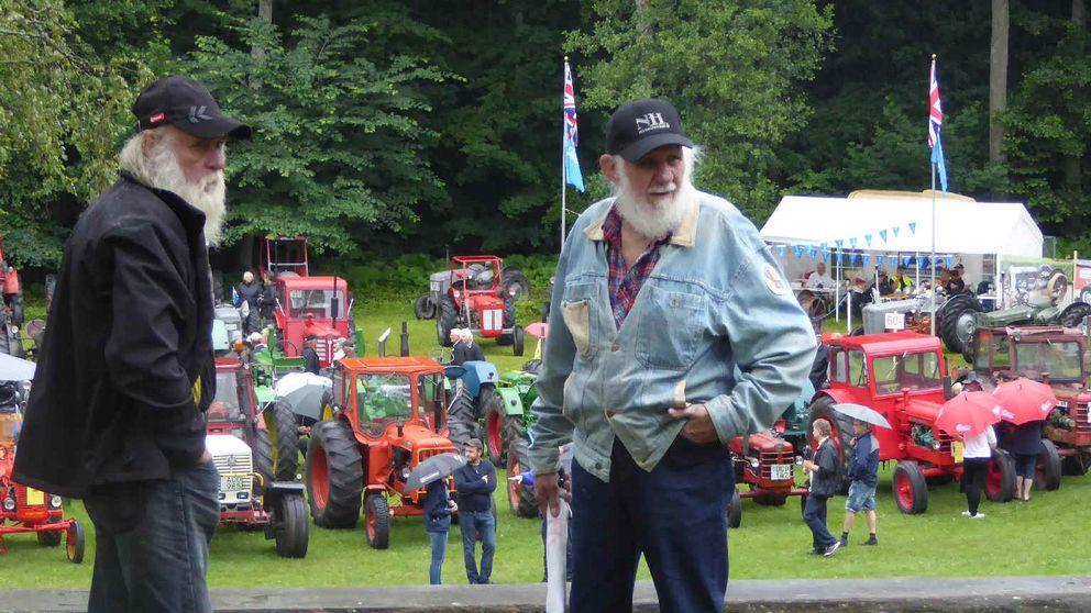 Traktorutställning i Degeberga