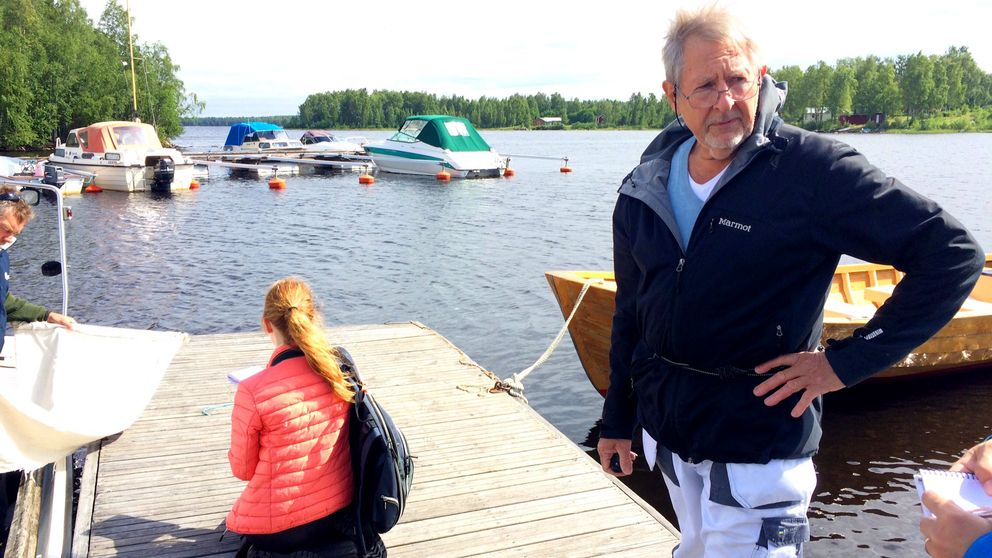 Fästingforskare Tomas Jaenson Uppsala universitet