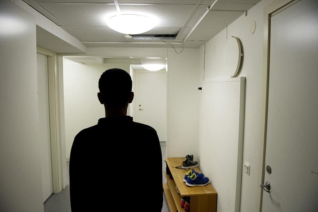 Storbrak pa asylboende i pajala