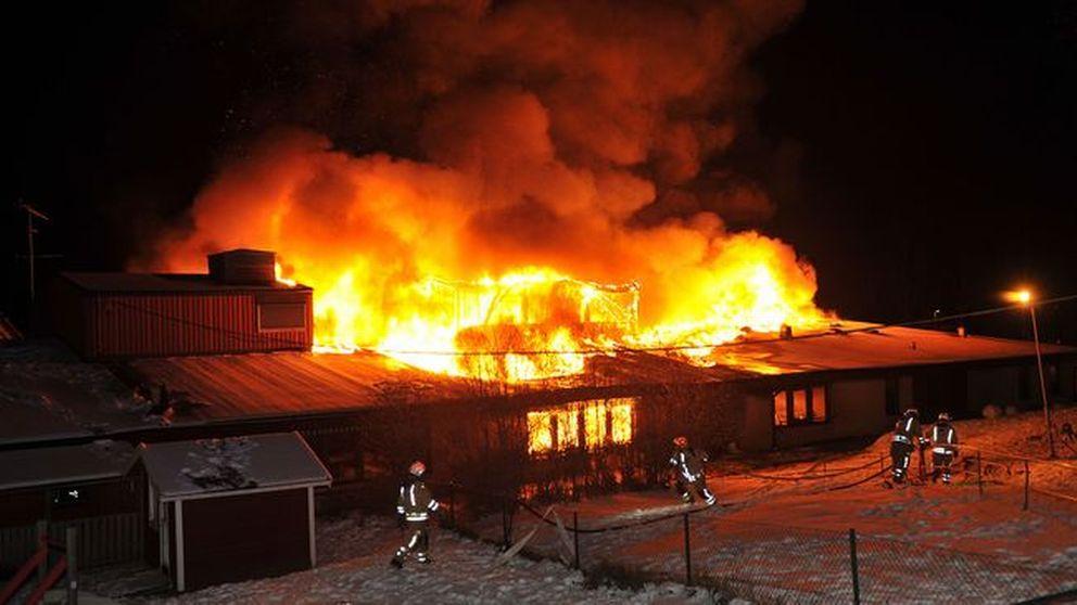 Branden på Götetorpsskolan