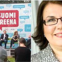 Porissa on tällä viikolla meneillään SuomiAreena -tapahtuma.