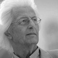 Péter Esterházy fotograferad i juni i år.