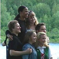 Kulttuuriministeri Alice Bah Kuhnke vieraili Tornionlaaksossa.