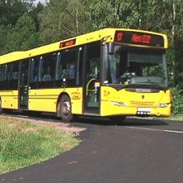 Buss på väg.
