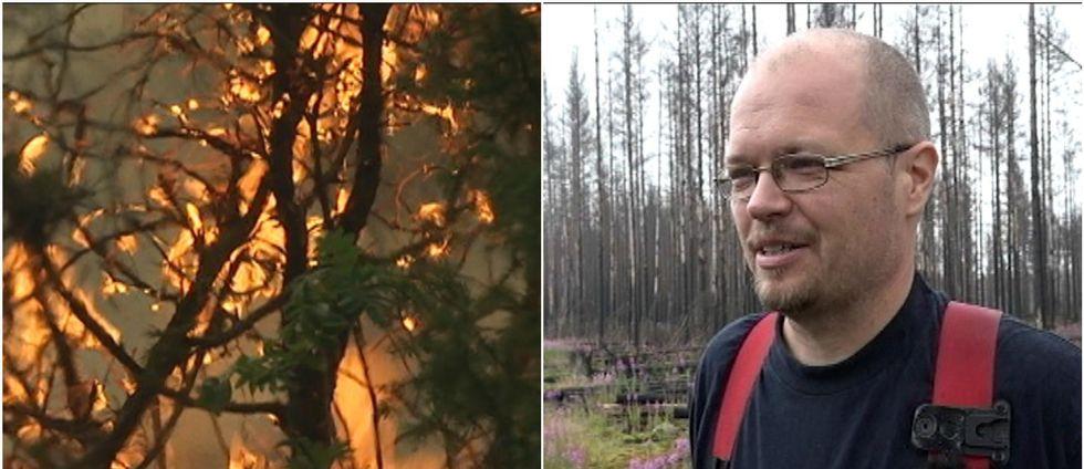 Metsäpalo jätti jälkensä palomiehiin
