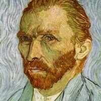 Ett av Vincent van Goghs självporträtt.