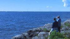 Ekonomiska föreningen Gässlingen äger ett av de tio vindkraftverken i Vindpark Vänern som står utanför Skoghall.