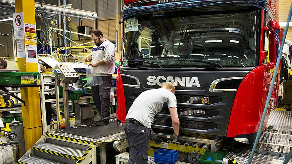 Scania-fabrik