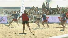 Beachhandbollsmatch