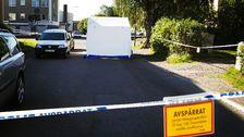 Misstänkt mord i centrala Borlänge.