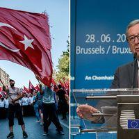 EU-kommissionens ordförande Jean-Claude Juncker varnar Turkiet för att återinföra dödsstraffet.