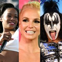 Beyoncé, Azealia Banks, Britney Spears, Gene Simmons och Oprah Winfrey.