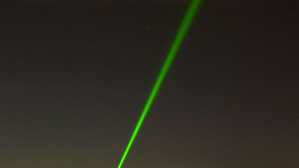 grön laserstråle, Malmö aviation