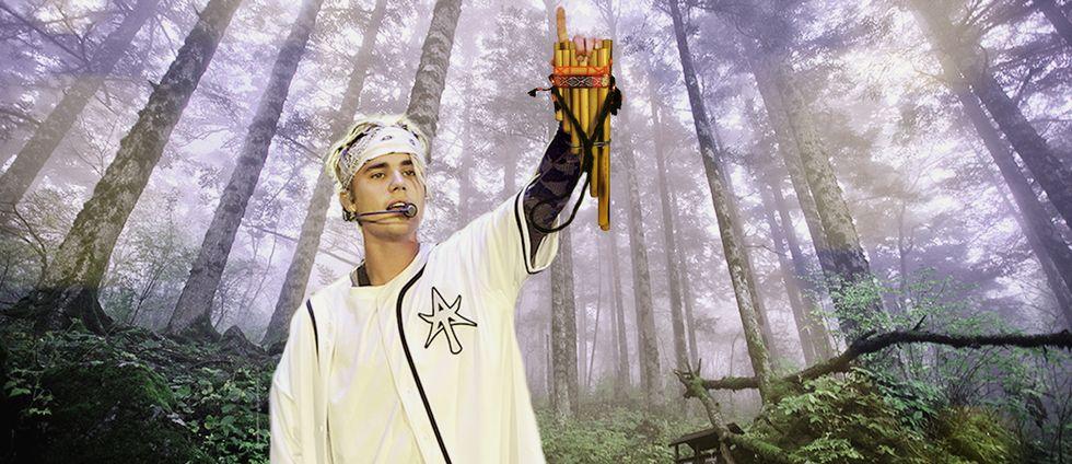 Justin Bieber är en bidragande orsak till panflöjtens revival.
