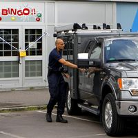 En bingohall i centrala Borlänge har utsatts för rån.