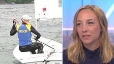 Josefin Olsson, seglare från Nyköping.
