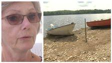 Eva Brynolf avdelningschef Länsstyrelsen Kalmar och båtar på Yxerns strand