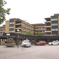 NÄL sjukhus i Trollhättan, huvudentrén