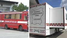 Räddningstjänsterna i Skåne har en ny ledningsbuss