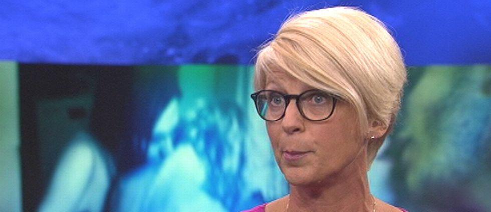 Elisabeth Svantesson i Aktuellt