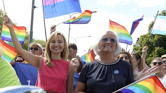 """Busch Thor i Prideparaden: """"En fantastisk feststämning"""""""