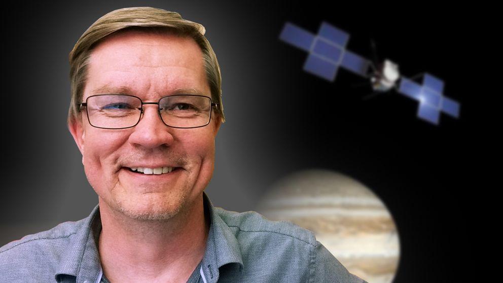 Jan-Erik Wahlund, Institutet för rymdfysik. Foto: SVT