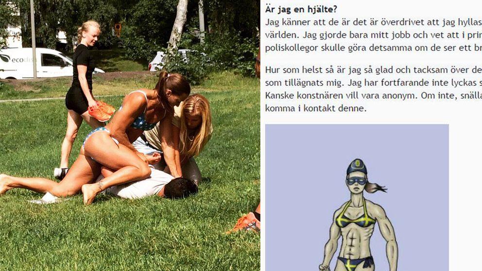 Privat/skärmdump från Mikaelas Kellners blogg