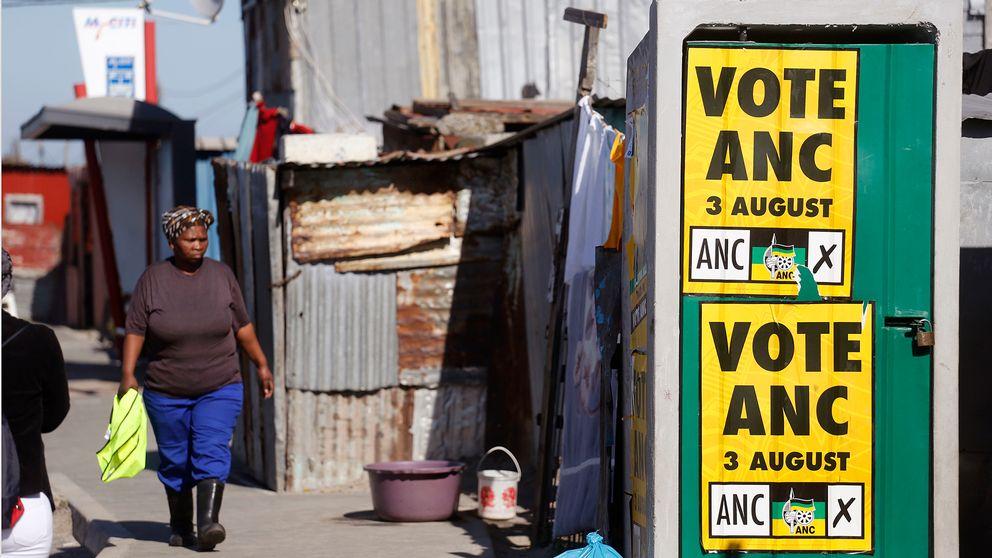 Arbetslosheten skenar i sydafrika
