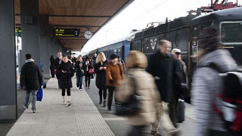 tåg tågperrong